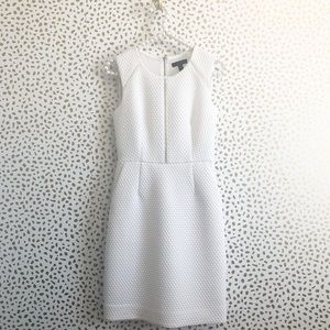 J. Crew White Portfolio Sheath Dress